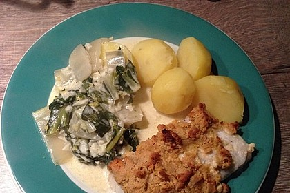 Fisch mit Curry-Kräckerkruste 4