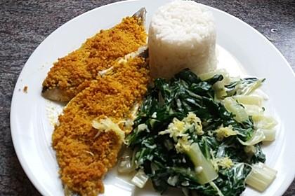 Fisch mit Curry-Kräckerkruste 3