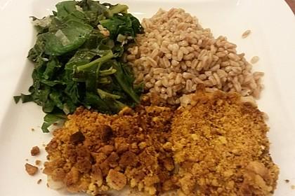 Fisch mit Curry-Kräckerkruste 1