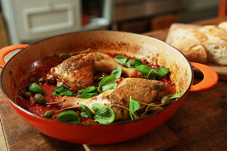 Italienische Hähnchenkeulen (Rezept mit Bild) von Chefkoch-Video ...