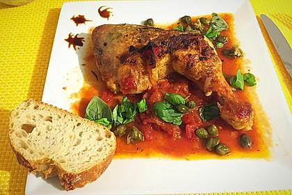 Italienische Hähnchenkeulen 2