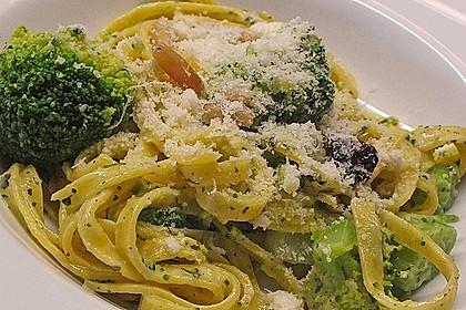 Pasta mit Brokkoli 3