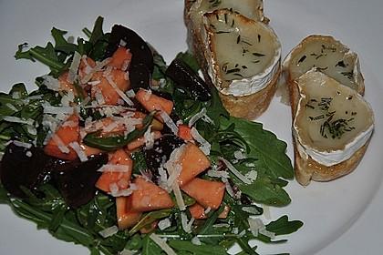 Rote Bete-Apfelsalat mit Ziegenkäse-Crostini 19