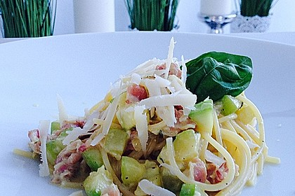 Zucchini-Carbonara 1