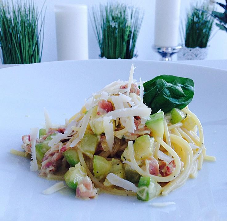 Zucchini-Carbonara (Rezept mit Bild) von Chefkoch-Video | Chefkoch.de