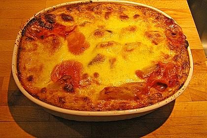 Kartoffel- und Auberginenmoussaka