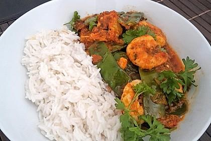 Rotes Thai-Curry mit Garnelen 1
