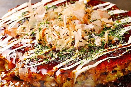 Okonomiyaki Osaka-Style