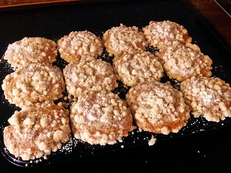 apfel zimt muffins mit karamellisierten streuseln rezept mit bild. Black Bedroom Furniture Sets. Home Design Ideas