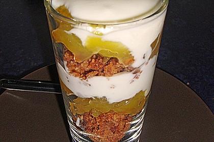 apfel quark oder joghurt cornflakes dessert rezept mit bild. Black Bedroom Furniture Sets. Home Design Ideas