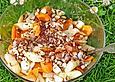 Möhren-Spargelsalat mit Mozzarella