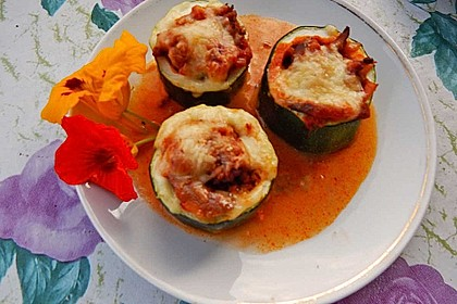 Gefüllte Zucchiniröllchen 4
