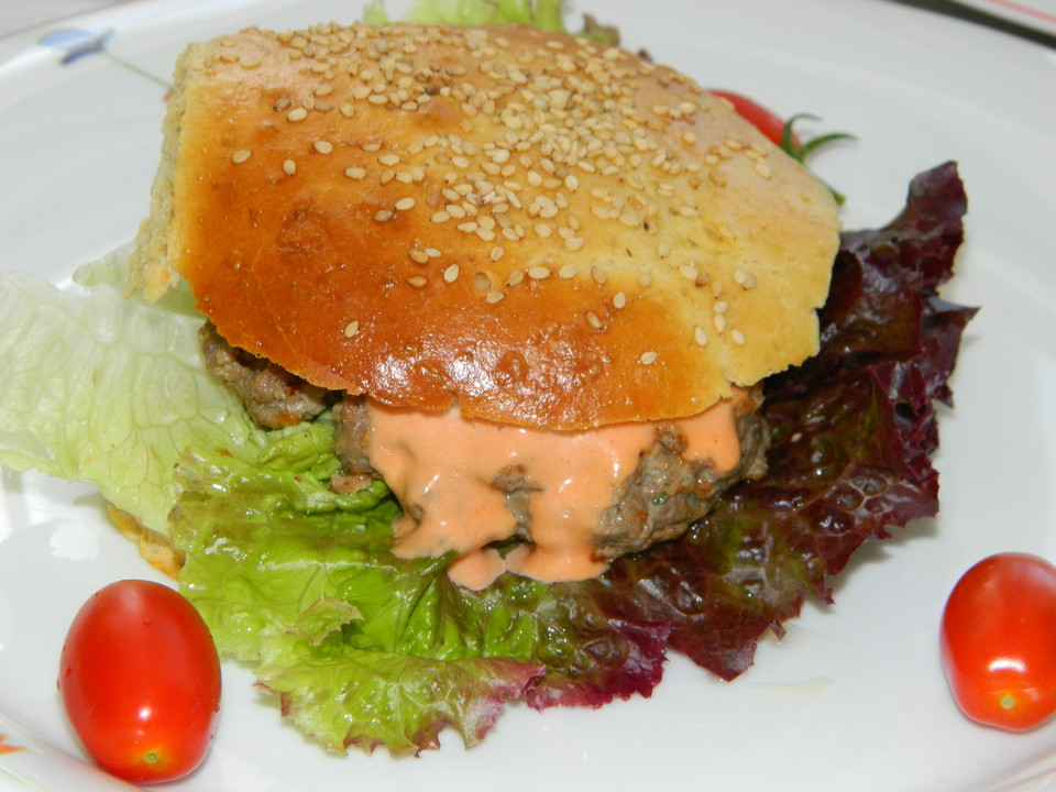 burger patties rezept mit bild von kochstadl. Black Bedroom Furniture Sets. Home Design Ideas