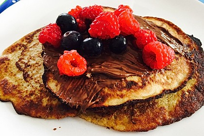 Bananen-Ei Pancakes aus 2 Zutaten 1