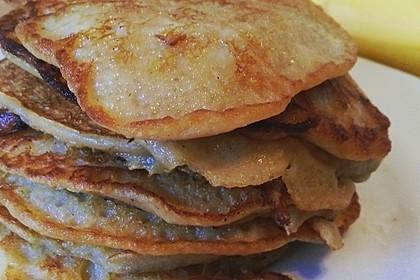 Bananen-Ei Pancakes aus 2 Zutaten 6