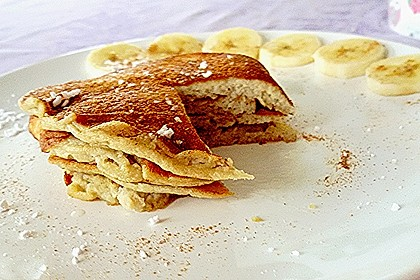 Bananen-Ei Pancakes aus 2 Zutaten