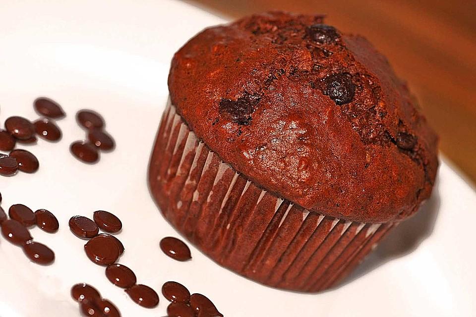 apfel kakao muffins mit n ssen von lebenslang. Black Bedroom Furniture Sets. Home Design Ideas