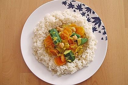 Orientalisch angehauchter Gemüsetopf