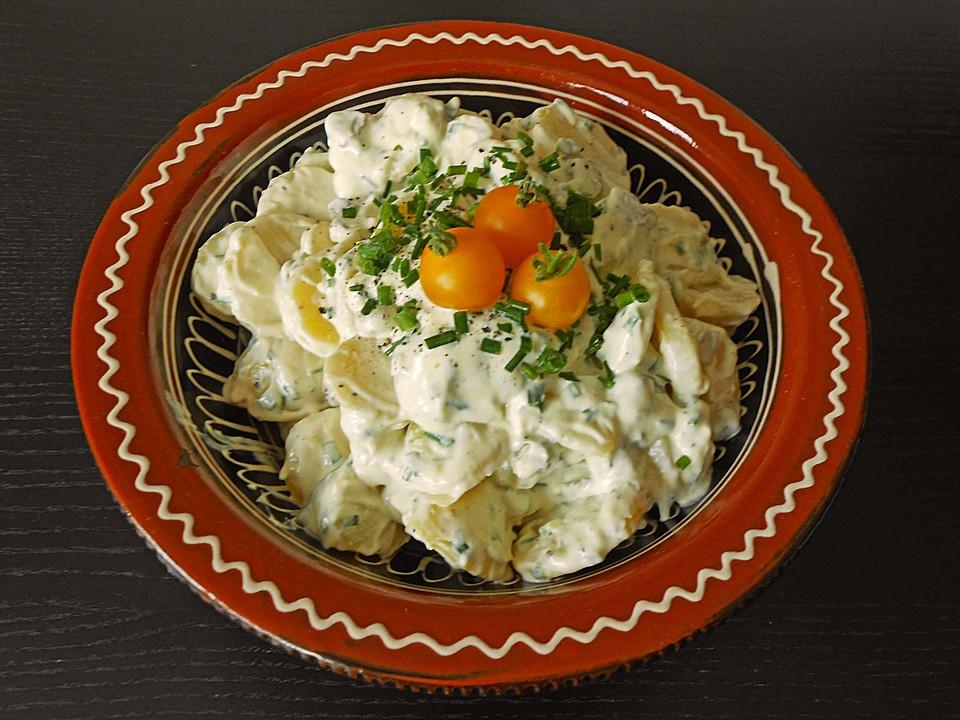 kartoffelsalat mit selbstgemachter mayonnaise von blossom80. Black Bedroom Furniture Sets. Home Design Ideas