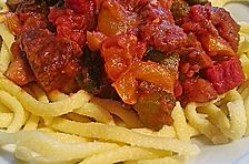 Kalorienarmes ungarisches Gulasch