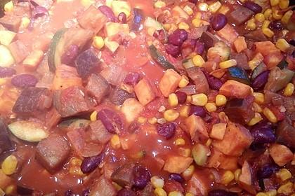 Süßkartoffel-Chili 21