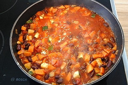 Süßkartoffel-Chili 1