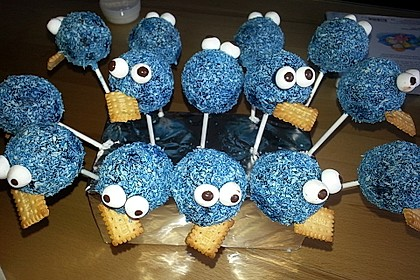kr melmonster cake pops rezept mit bild von moosmutzel311. Black Bedroom Furniture Sets. Home Design Ideas