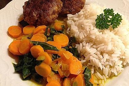 Mangold-Möhren-Currygemüse