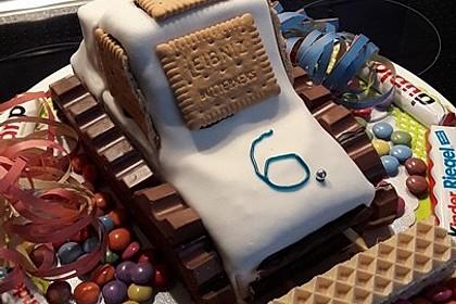 bagger planierraupe kuchen f r den kindergeburtstag von heidibeere. Black Bedroom Furniture Sets. Home Design Ideas