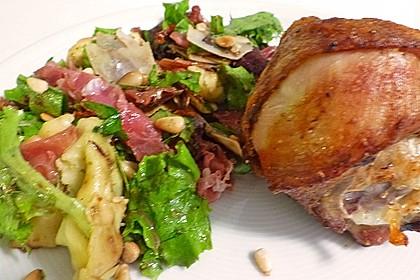 Tortellini-Rucola-Salat mit Pesto und Parmesan 22