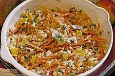 Reis-Champignon-Salat