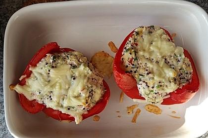 Gefüllte Paprika mit Quinoa 1