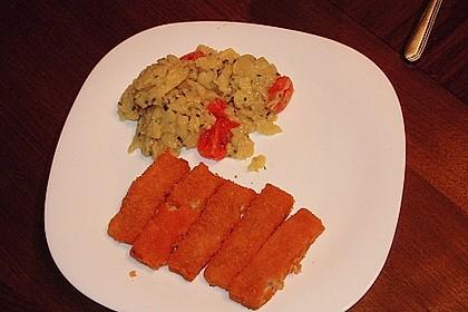 Fischstäbchen mit Kartoffelsalat 4