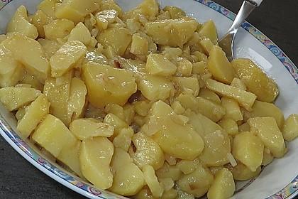 Fischstäbchen mit Kartoffelsalat 2