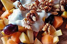 Vegane Obst-Pfannkuchen