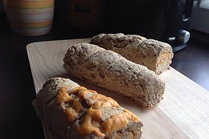 Glutenfreie Baguette-Brote 6