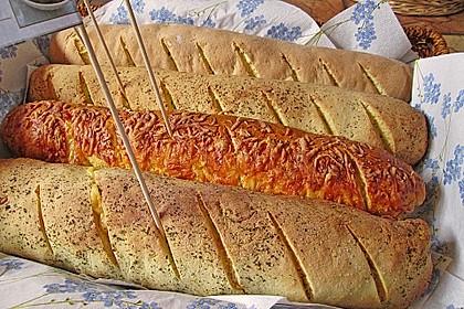 Glutenfreie Baguette-Brote 1