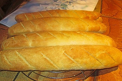 Glutenfreie Baguette-Brote 2