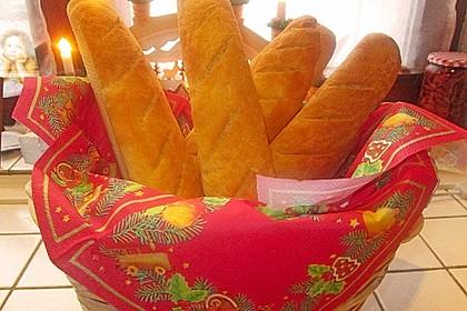 Glutenfreie Baguette-Brote 5