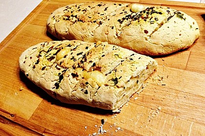 Glutenfreie Baguette-Brote 3