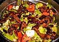 Gemischter Salat mit Filetstreifen