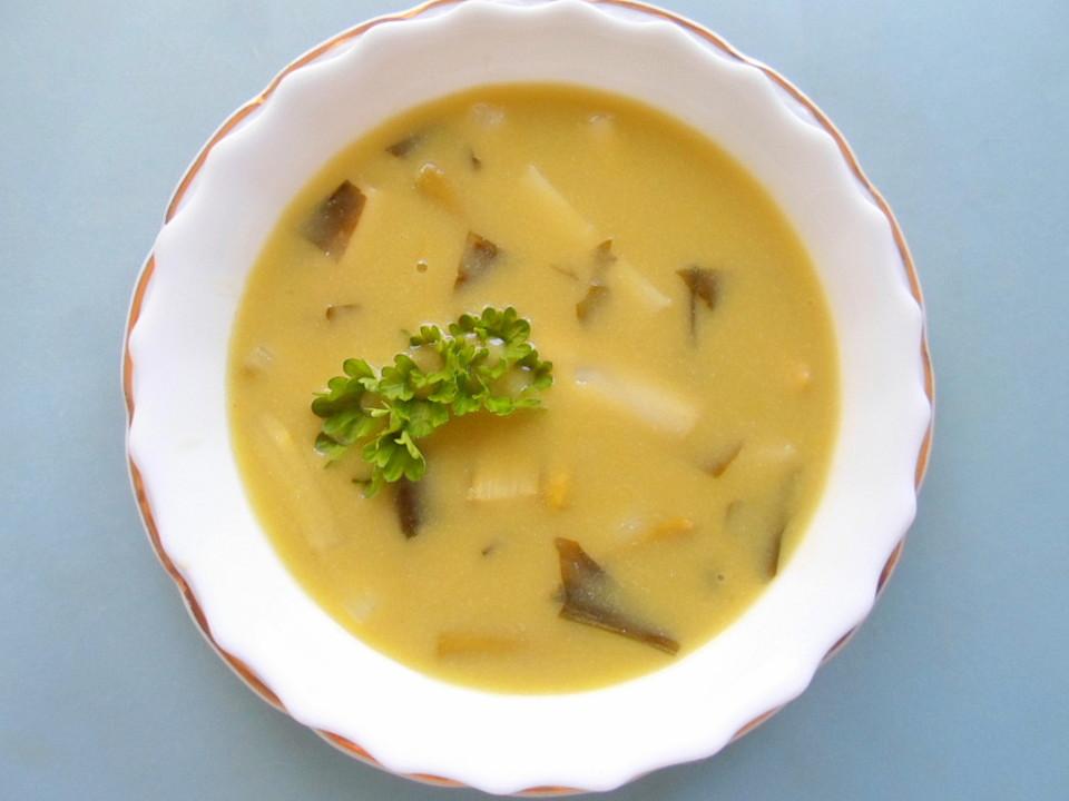 spargel b rlauch suppe rezept mit bild von cougarbabe. Black Bedroom Furniture Sets. Home Design Ideas
