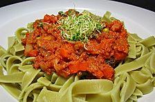 Spaghetti 'Bologneser Platte'