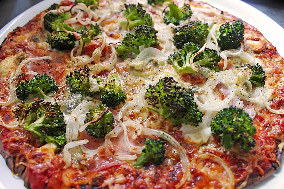 low carb pizza mandelmehl rezepte. Black Bedroom Furniture Sets. Home Design Ideas