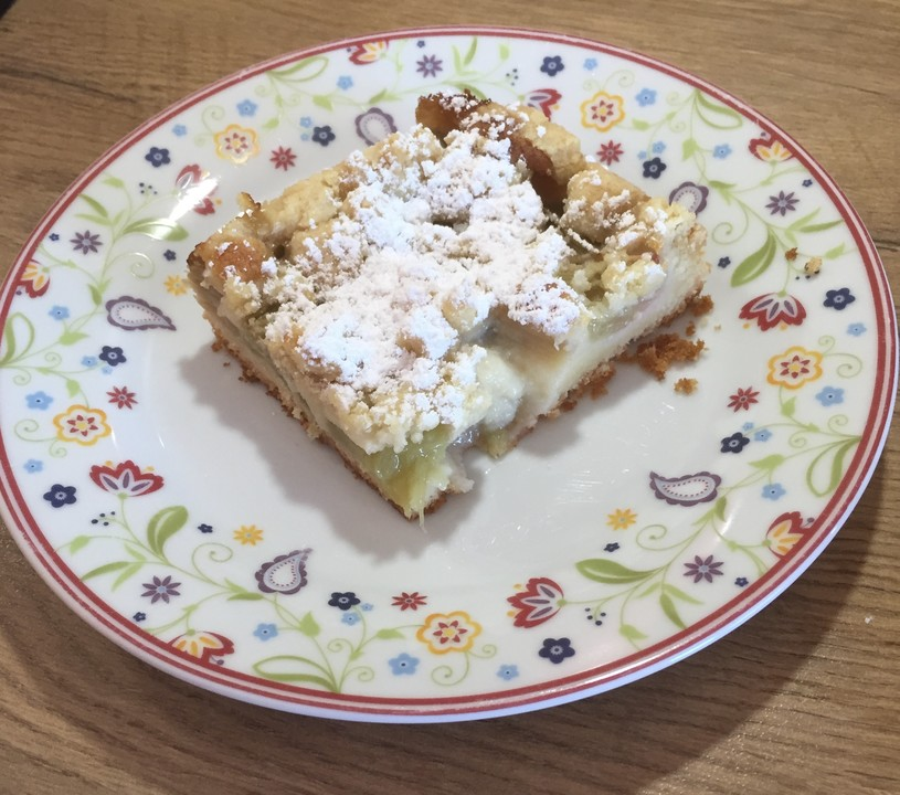 Rhabarber-Streusel-Kuchen von mickyjenny | Chefkoch.de