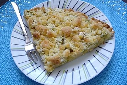 Rhabarber-Streusel-Kuchen