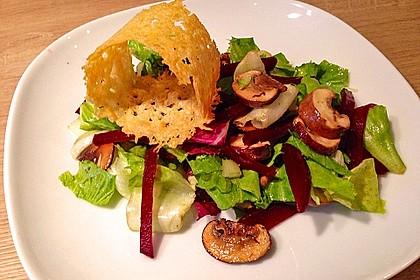Rote-Bete-Pilz-Salat