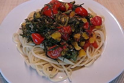 Mönchsbart-Spaghetti