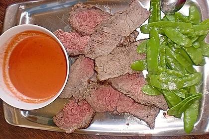 Roastbeef mit Tomatencreme 1