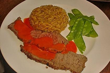Roastbeef mit Tomatencreme 2